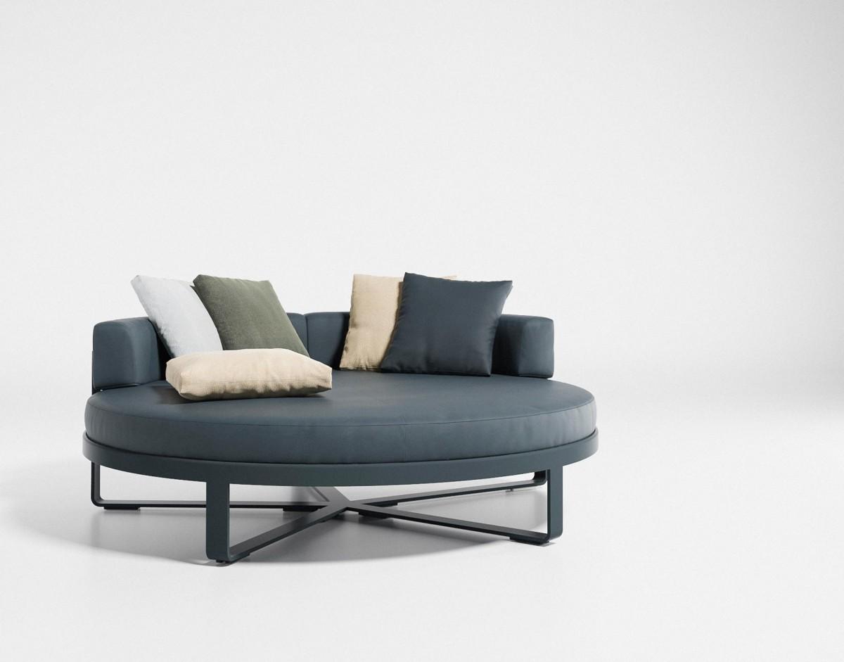Flat Circular Bed